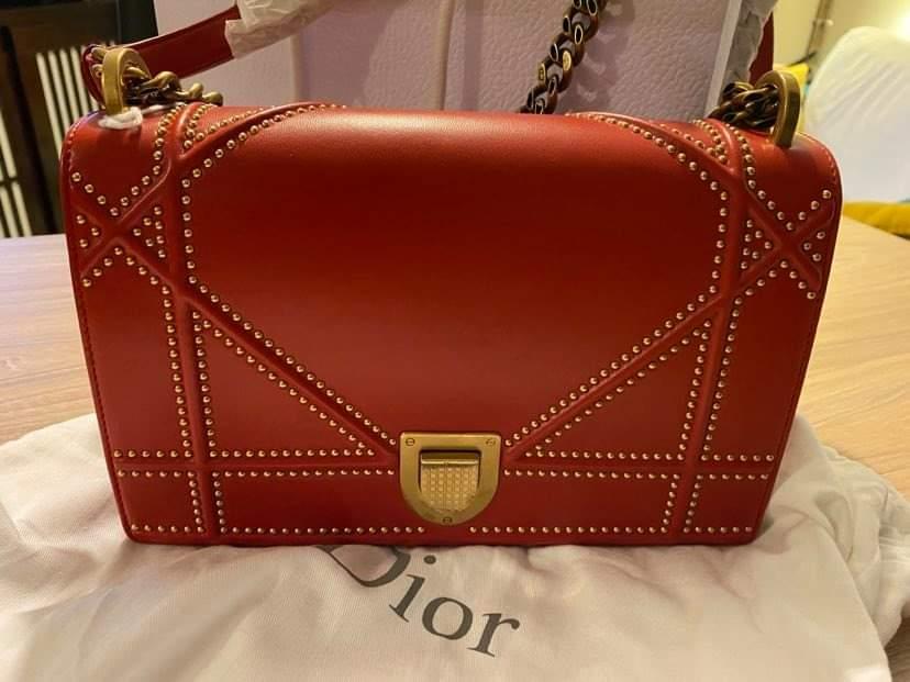 Dior Diorama spicy red, état neuf sur IconPrincess