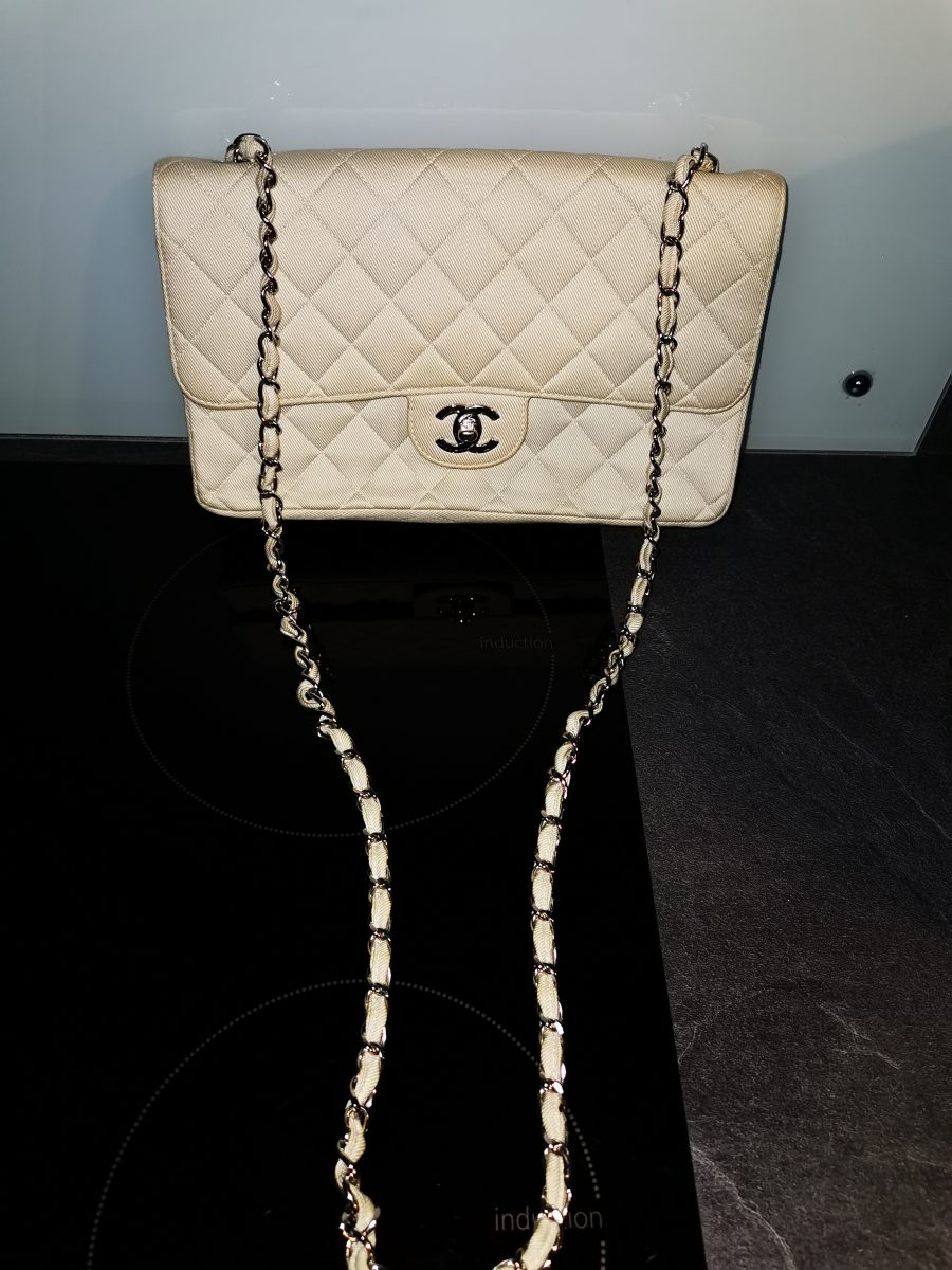 Chanel Maillot timeless Jersey beige