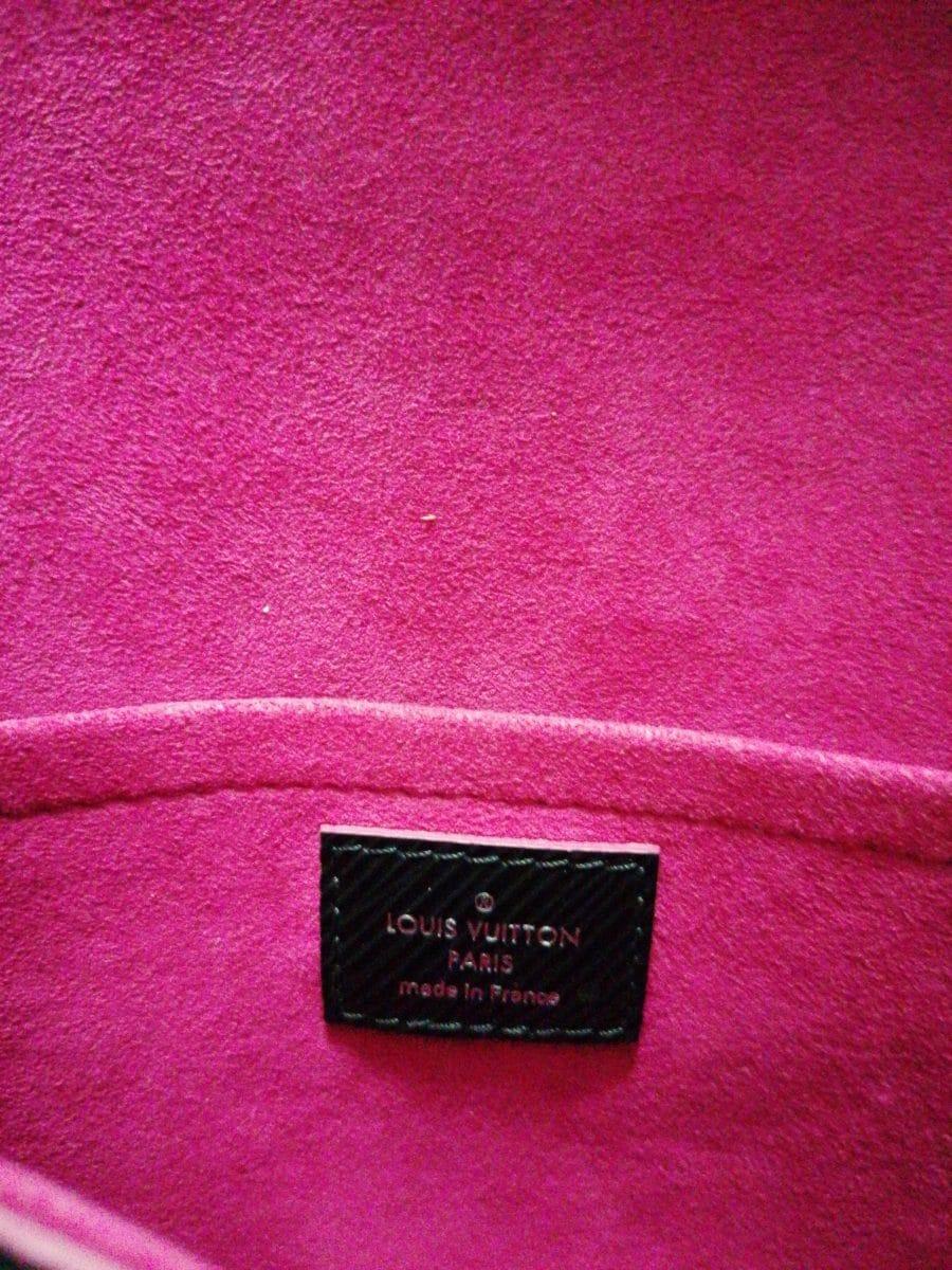 Louis Vuitton Saint cloud noir fushia