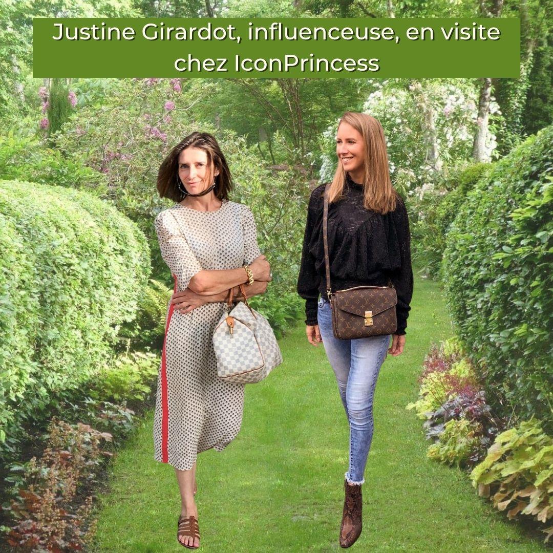 Justine en visite chez Iconprincess