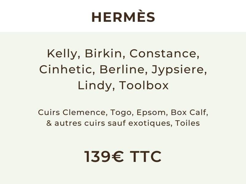 Sac Hermès authentifié