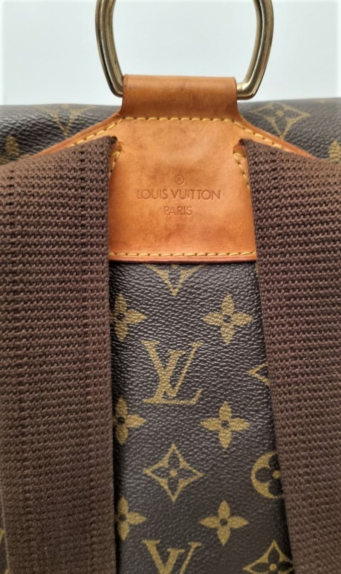 Vuitton Montsouris monogram