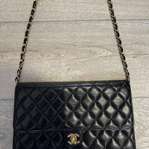 Chanel Timeless classique cuir noir