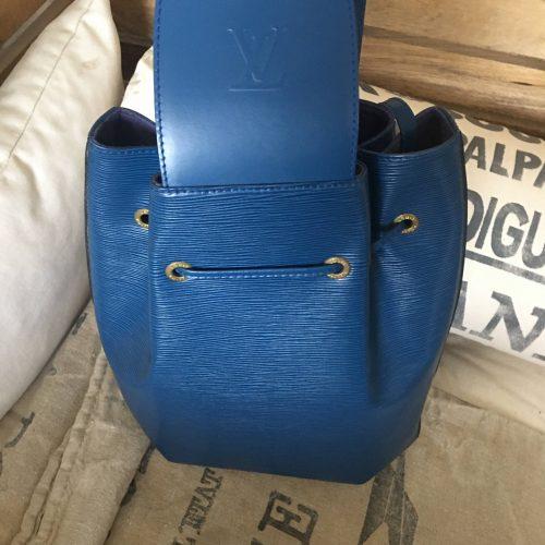 Vuitton dos epi bleu