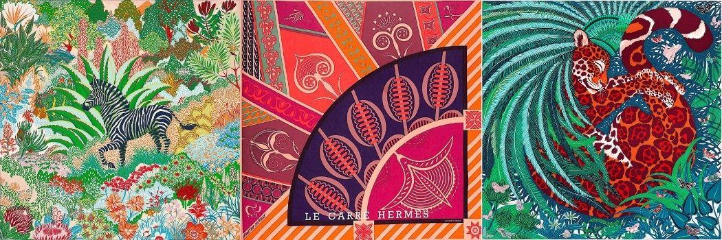 Les carrés Hermès pre-loved