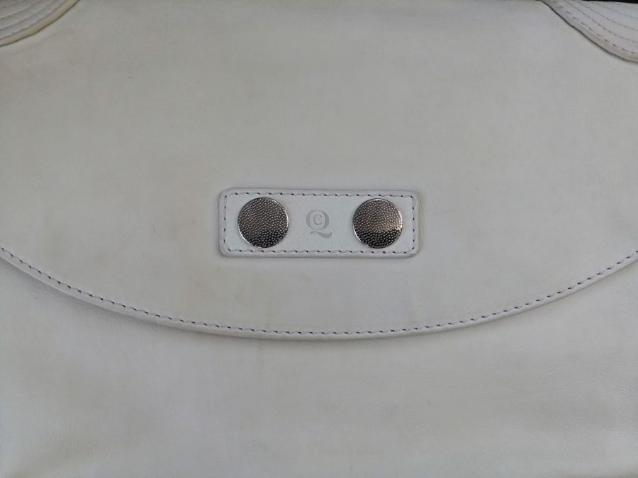 Alexander McQueen cuir blanc