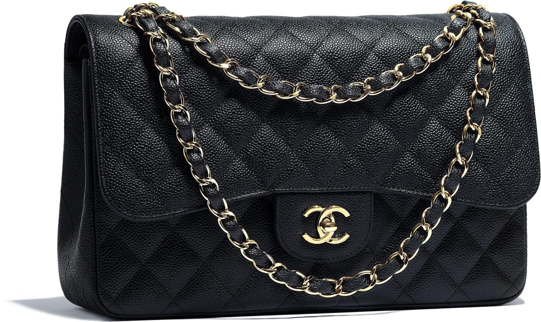 Sac Chanel Timeless cuir noir