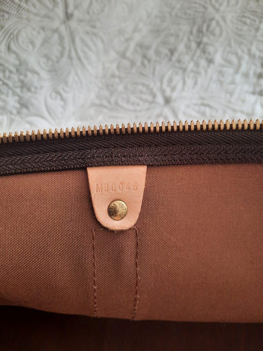 Vuitton keepall 55 tres bon état