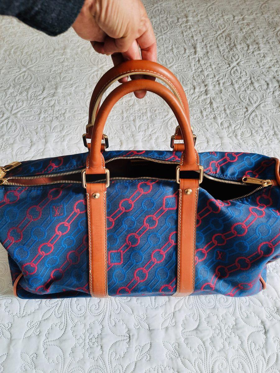 Louis Vuitton Keepall 50 Bleu Série Limitée 2012